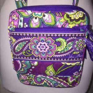 17b5c53e3de0 Vera Bradley Bags - NEW Vera Bradley Mini Hipster Crossbody - Purple